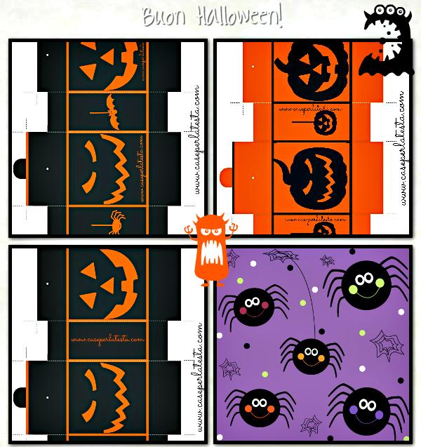 scatolette dolci halloween