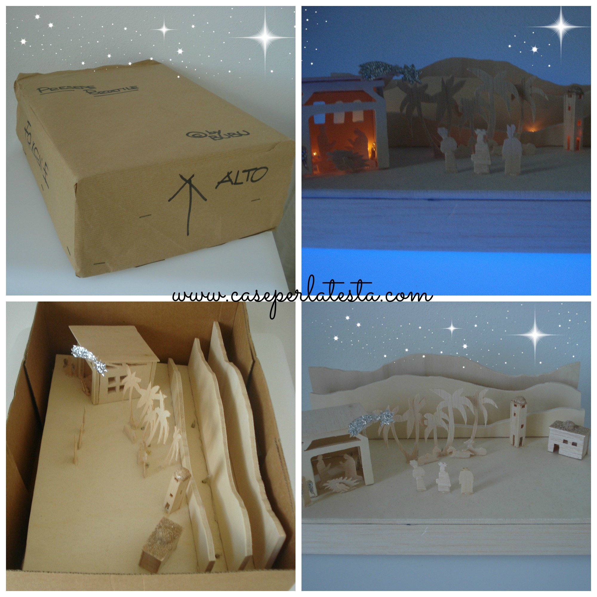 Presepe in scatola * Crib in a box