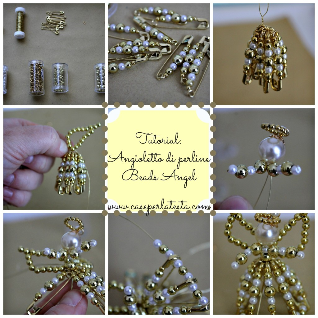 tutorial bead angel