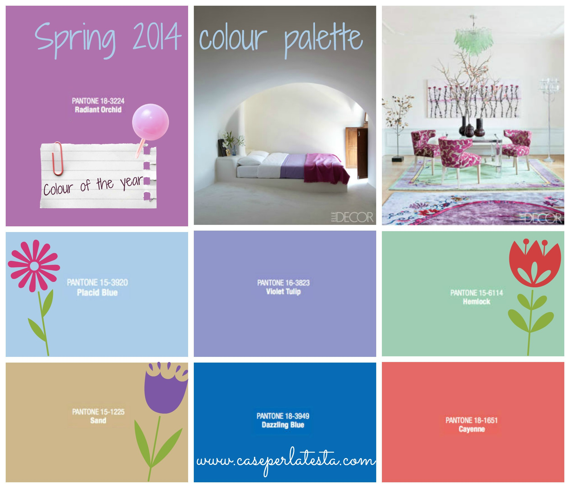 Get the look – Colori primavera 2014 *Spring 2014 colour palette
