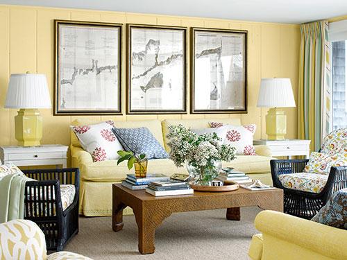 Get the look: come arredare  il soggiorno in stile Cape Cod