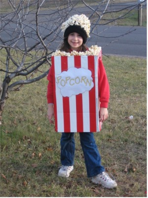 Pop corn costume
