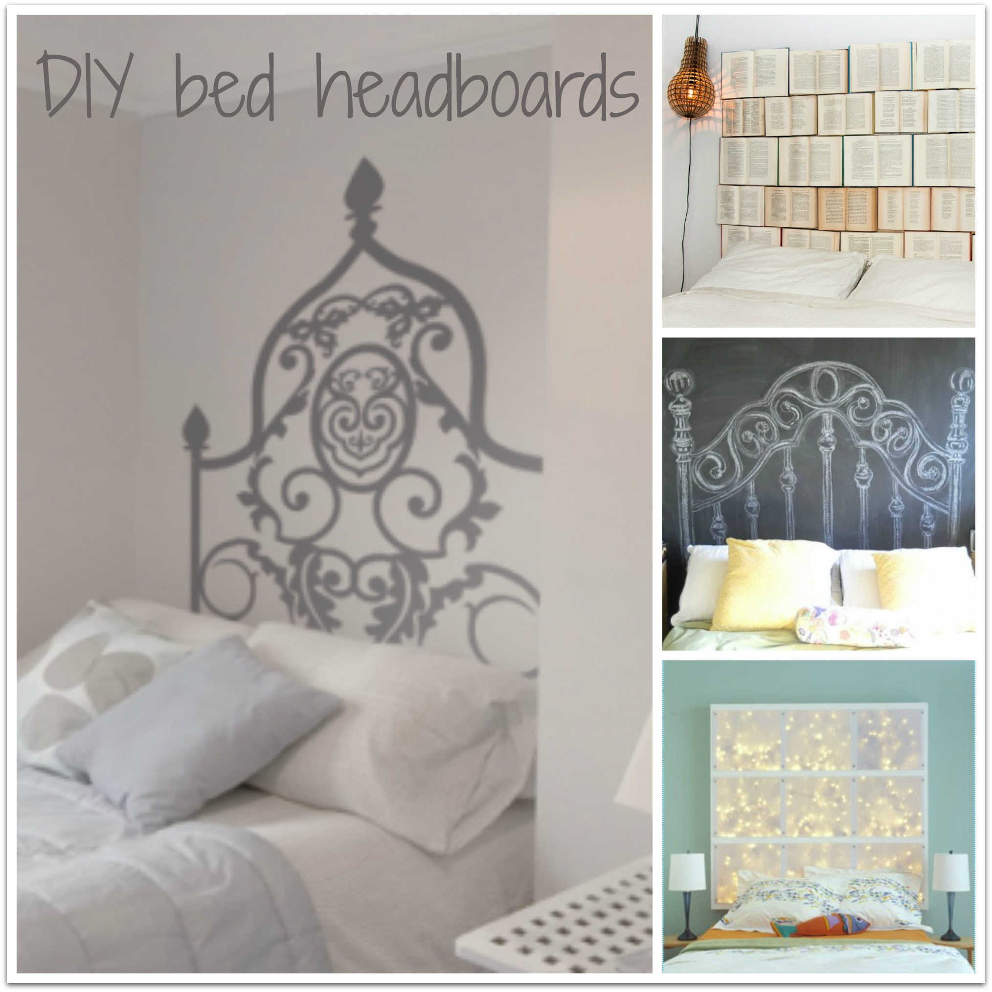 Testiera del letto fai da te * DIY bed headboard - Caseperlatesta