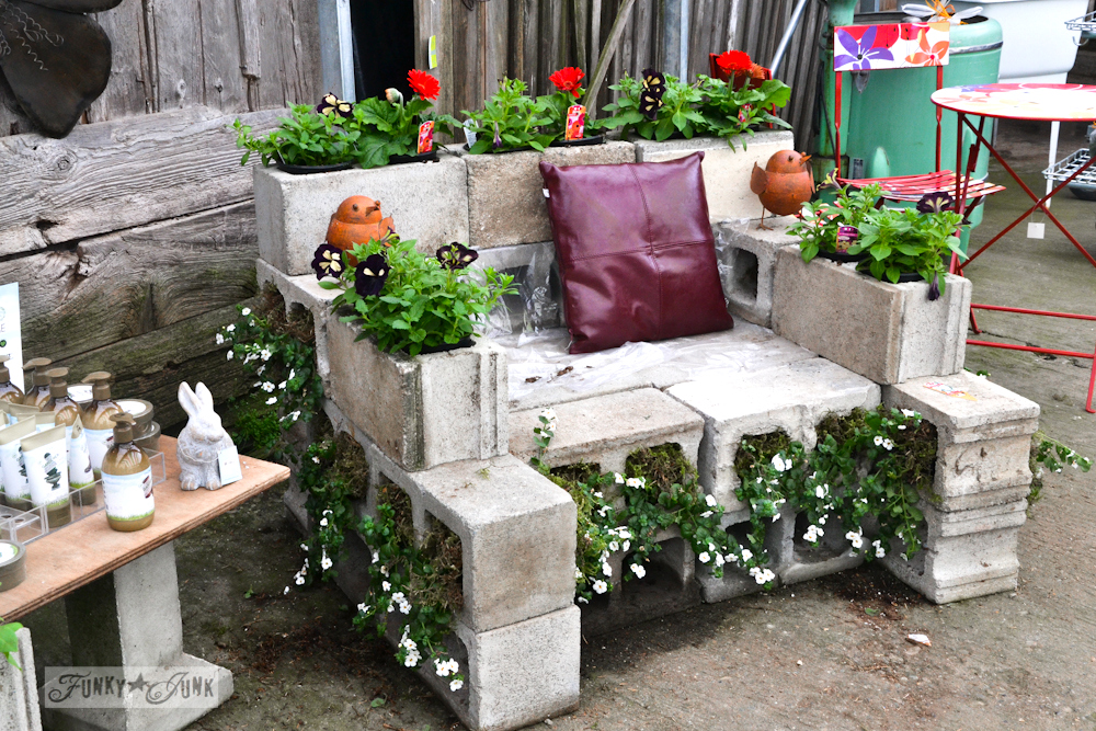 Cement DIY furniture