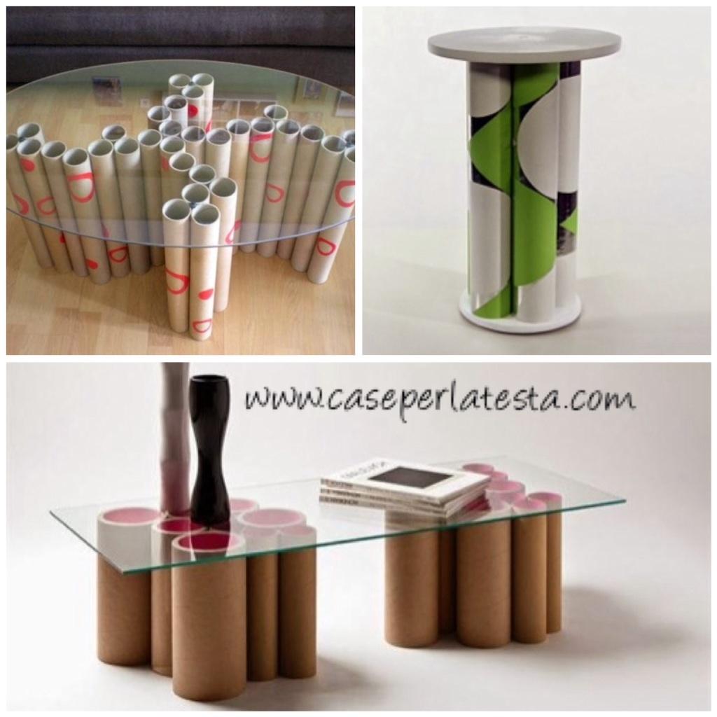 Extrêmement I molteplici ricicli realizzati da semplici tubi di cartone ZT73