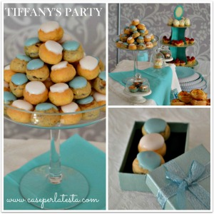 #Tiffany's#party#DIY