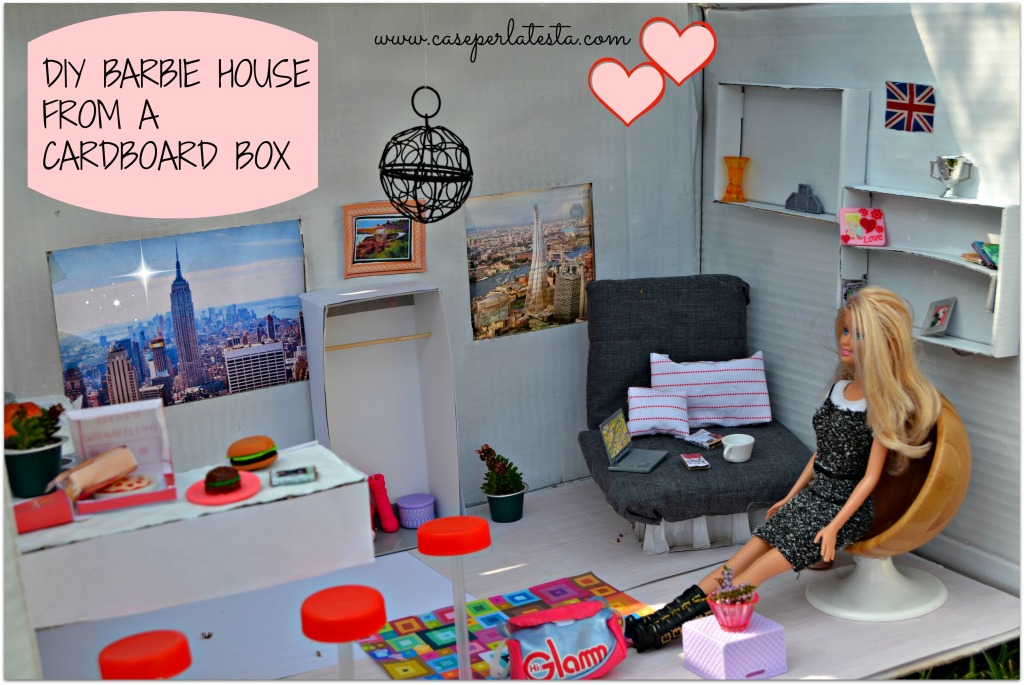 DIY_Barbie_house_from_cardboard
