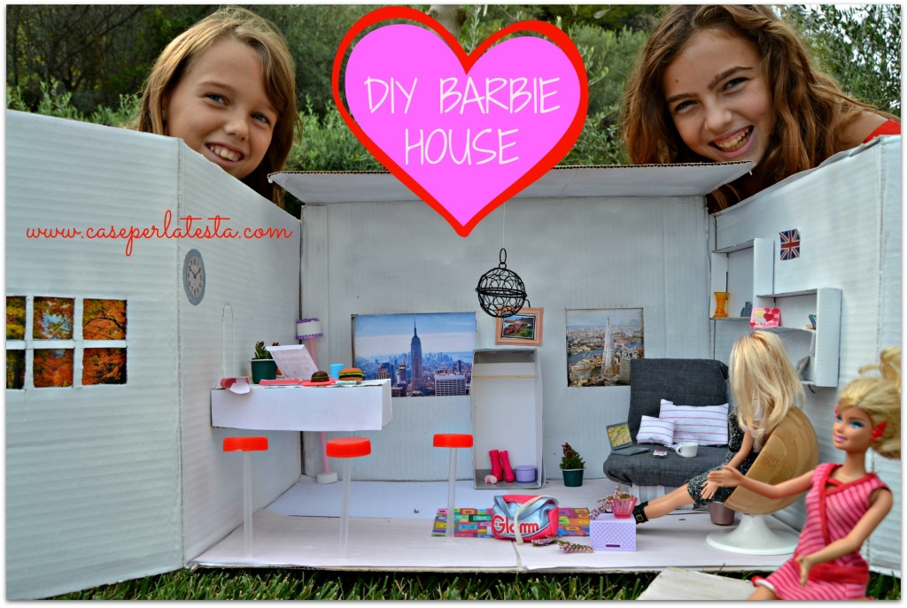 Casa di barbie fai da te a costo zero diy barbie house at no cost caseperlatesta - Progetto casa fai da te ...