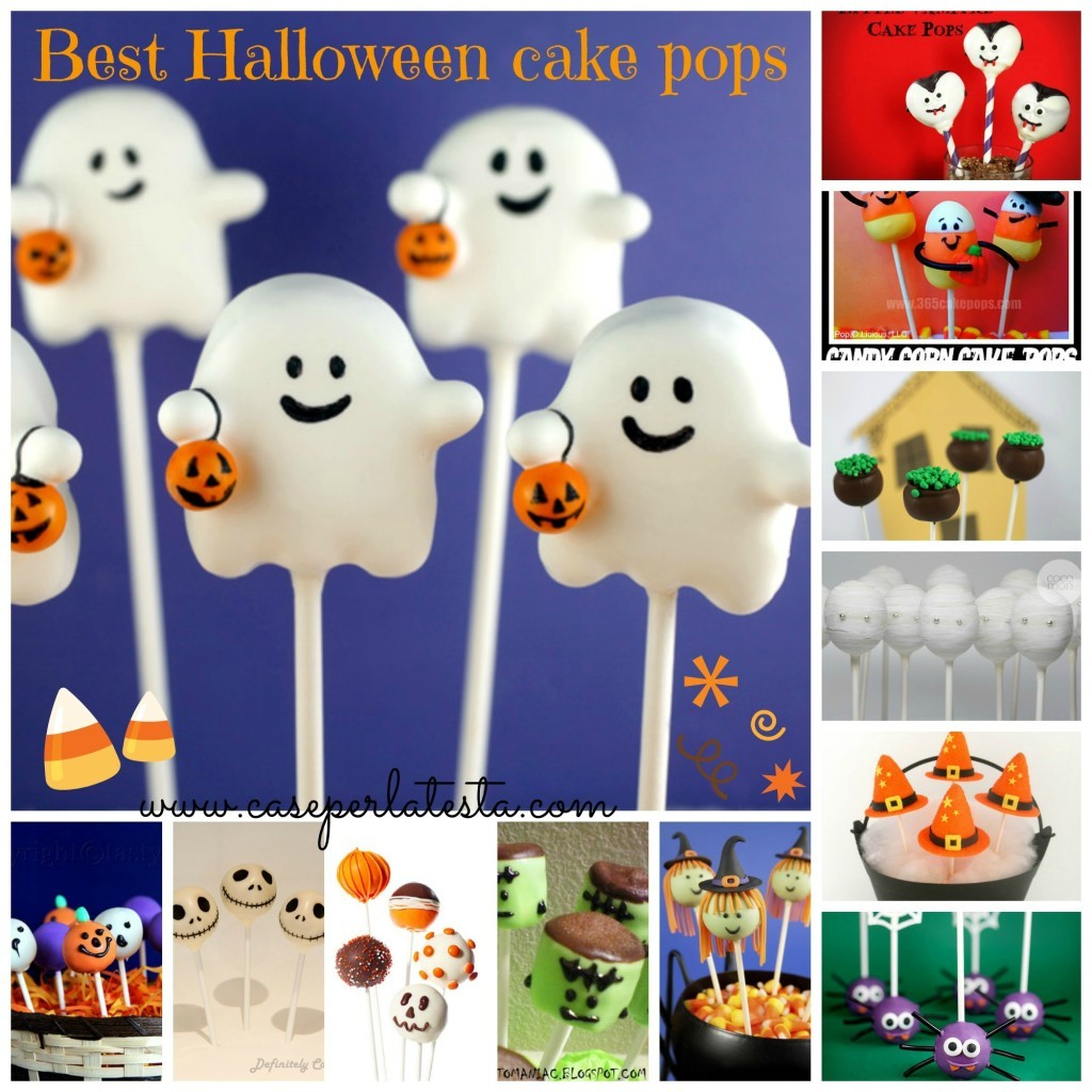 Top Halloween cake pops