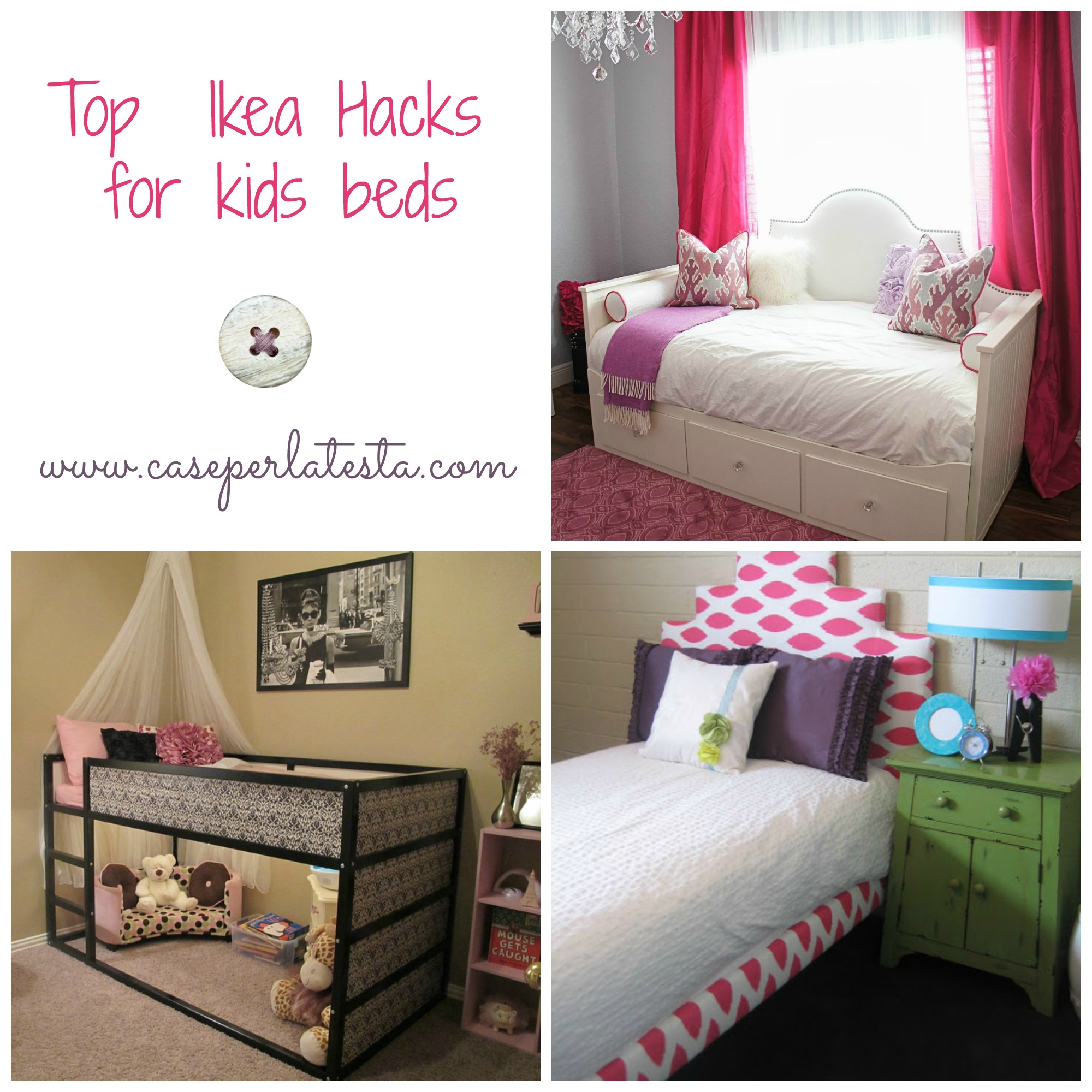 top personalizzazioni letti ikea per bambini top ikea. Black Bedroom Furniture Sets. Home Design Ideas