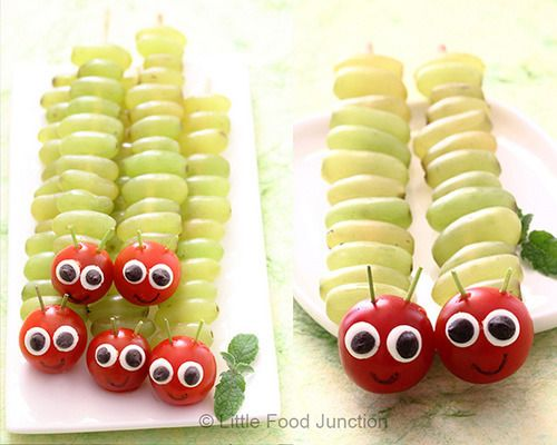 catepillar-food