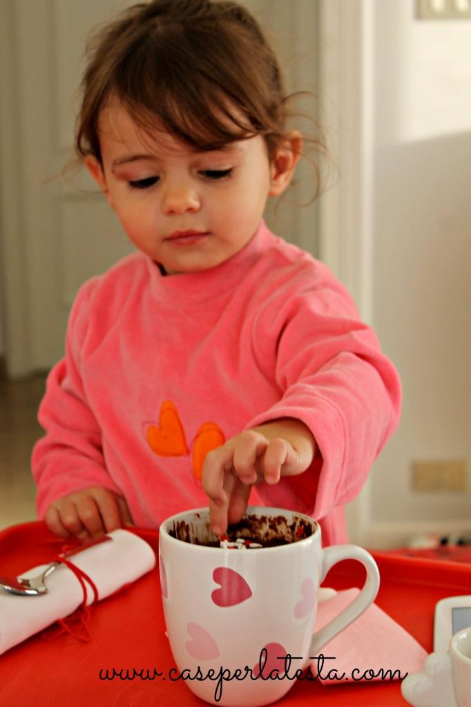 mug cake san valentino