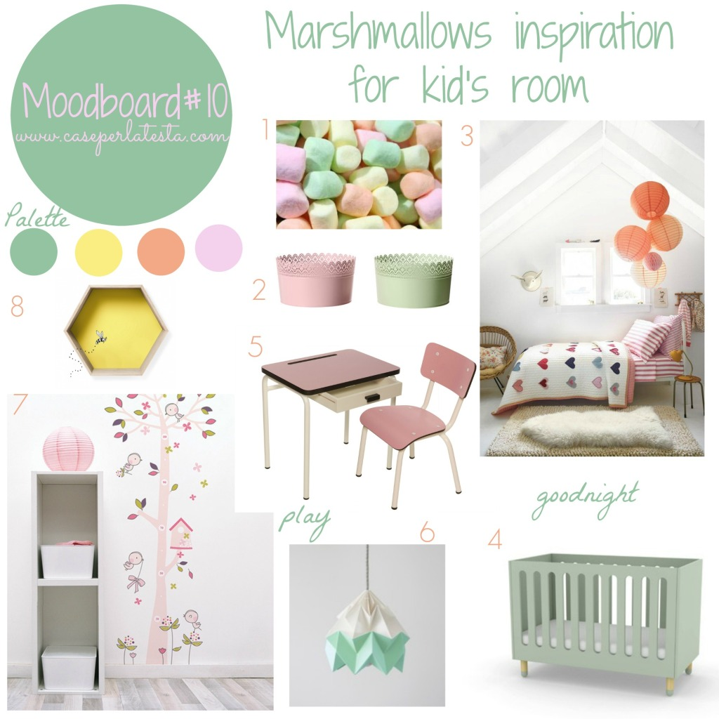 Moodboard#10 - Marshmallows inspiration