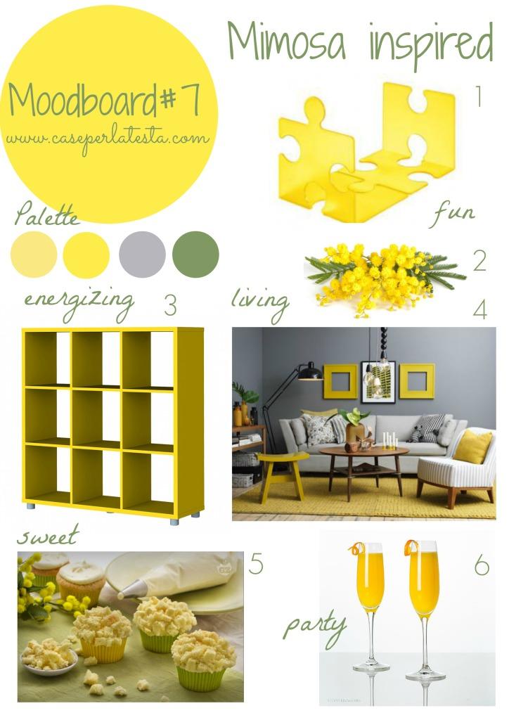 Moodboard#7 Mimosa inspired