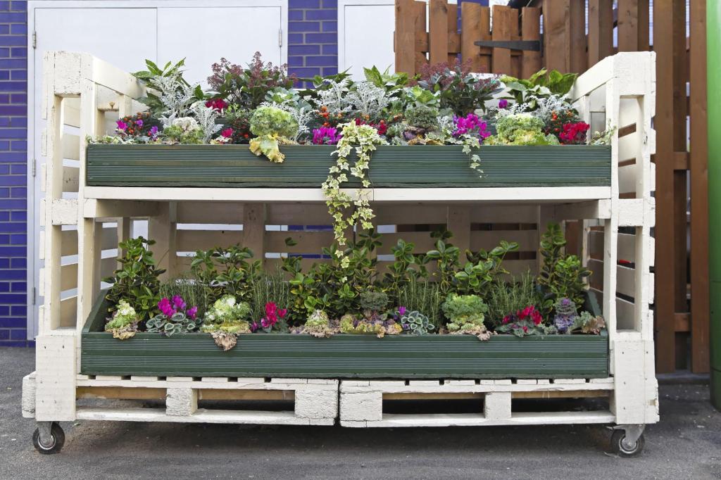 Favorito Orto fai da te con pallet * DIY pallet vegetable garden  WT97