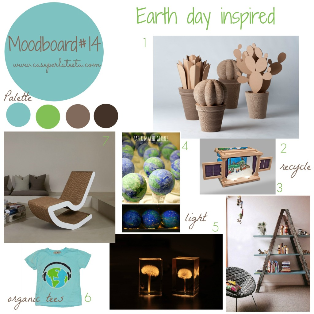 Moodboard#14_ Earth day inspired