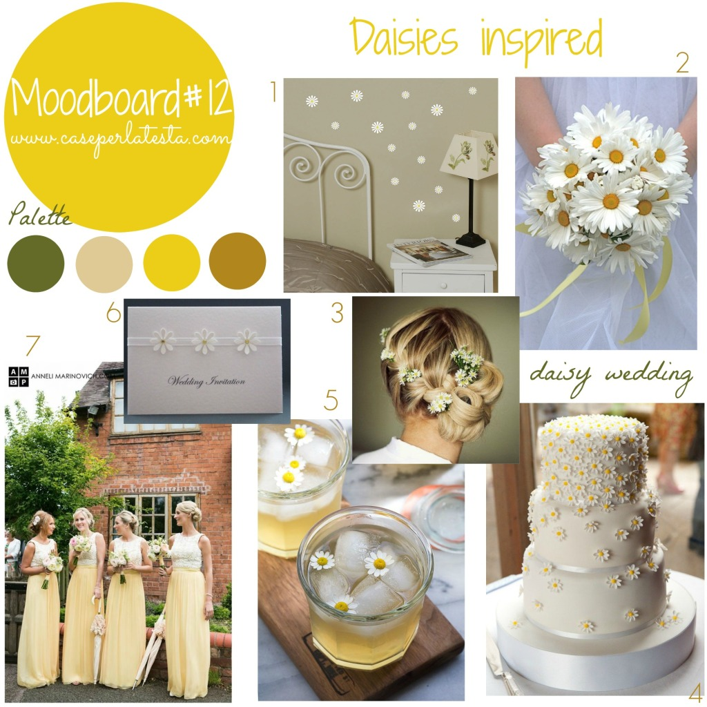 moodboard#11 - Daisies inspired