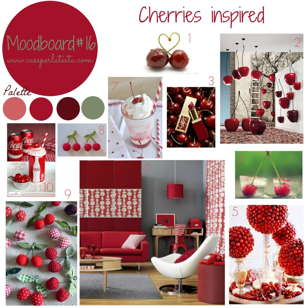 Moodboard#16 - Cherries inspired