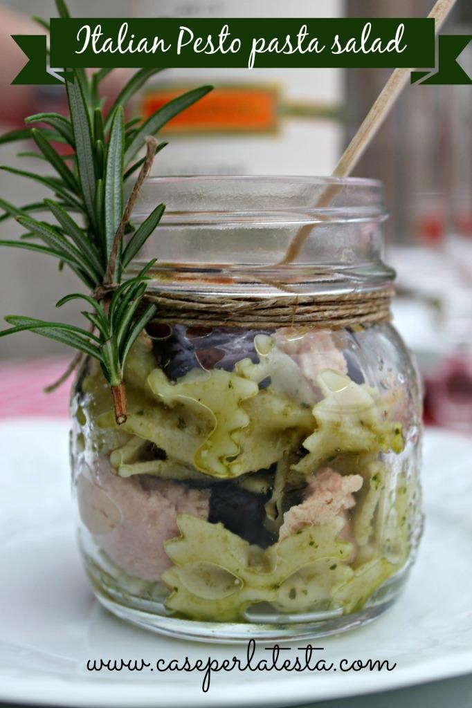 italian pesto pasta salad