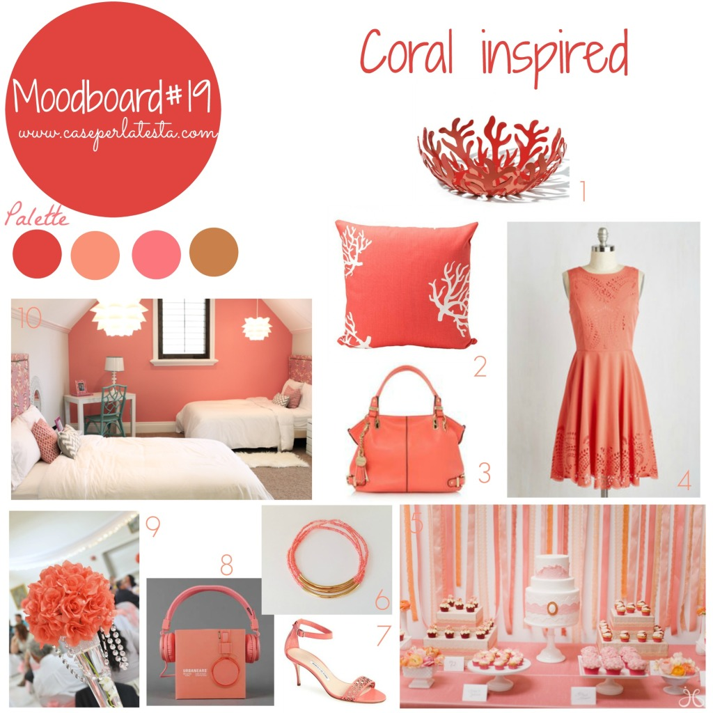 My_moodboard_on_wednesday#19_coral_inspired