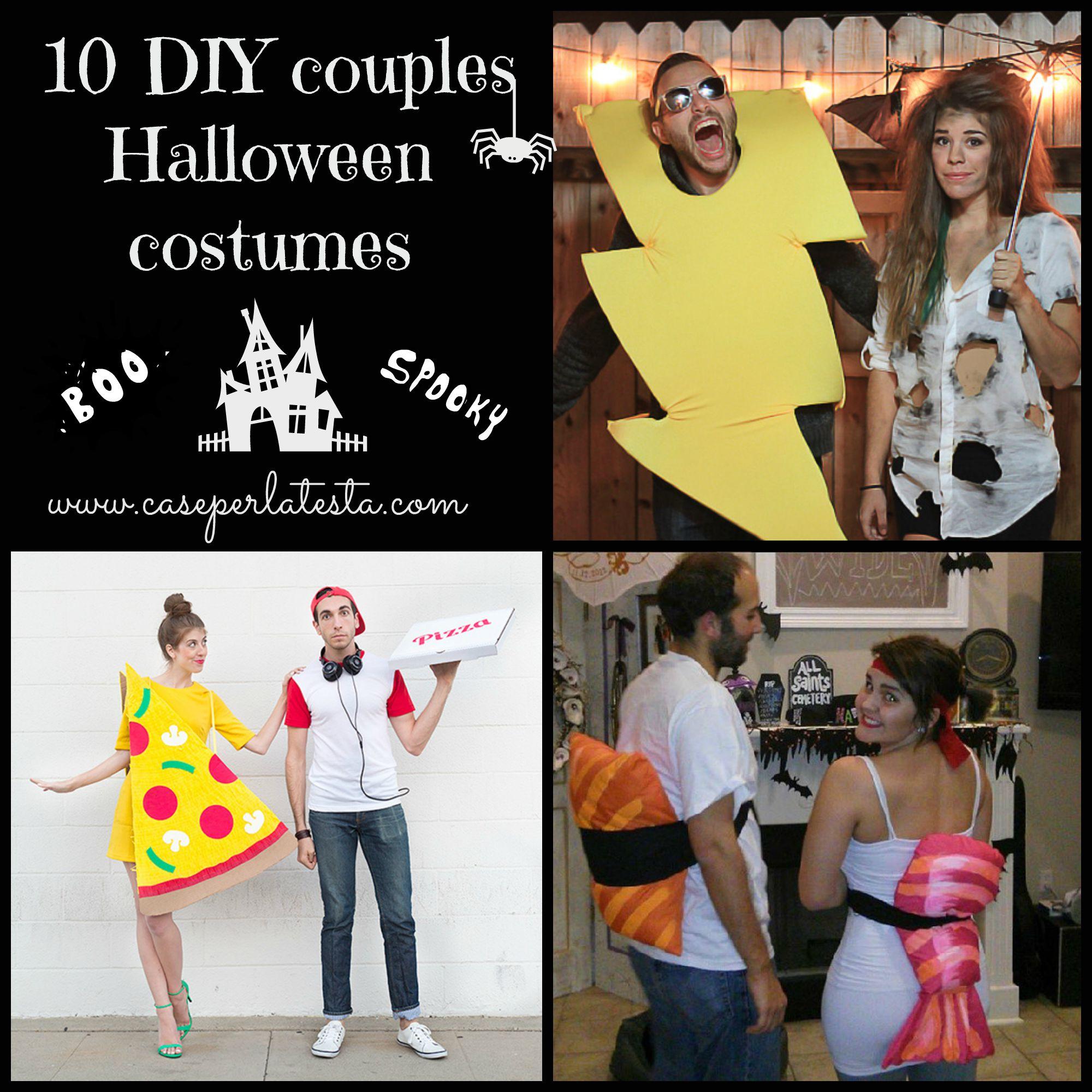 15 costumi di halloween fai da te per coppie 15 diy for Spranga per porta fai da te