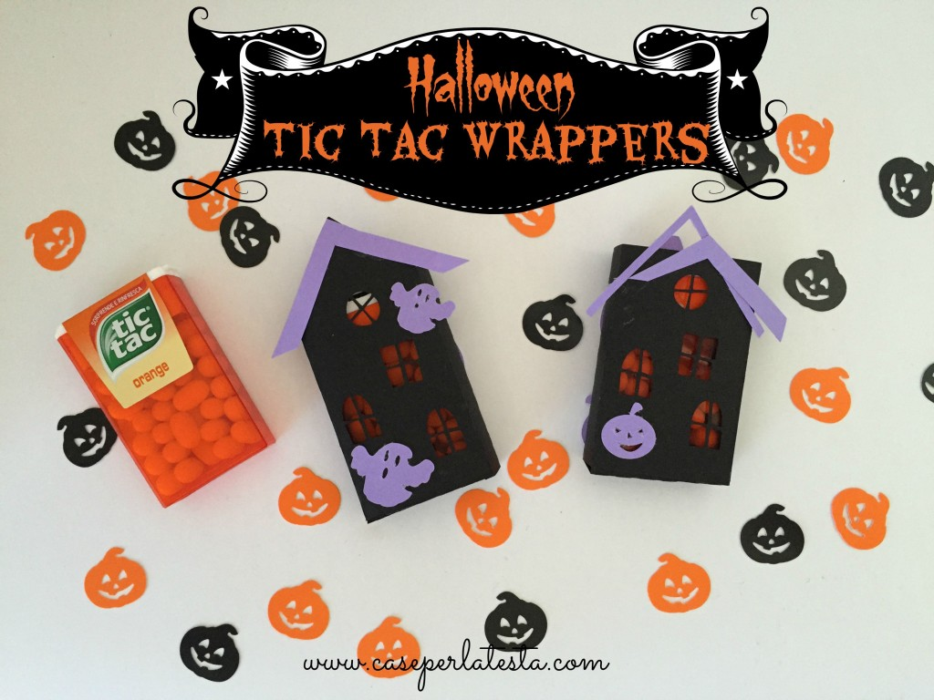 halloween tic tac wrappers