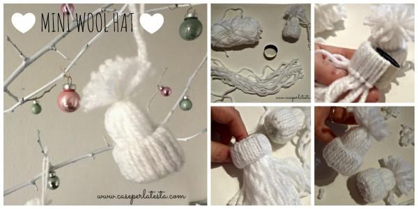 mini wool hat