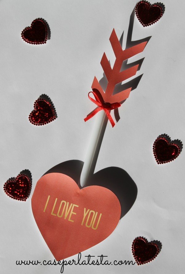 arrow card valentine