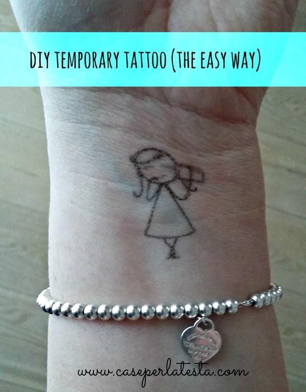 tatuaggio temporaneo fai da te