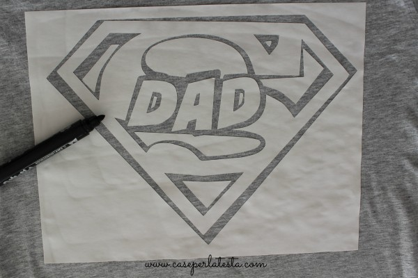 diy superman shirt
