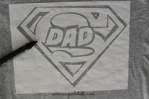 diy superman shirt