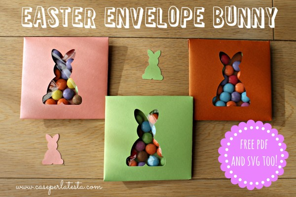 easter envelope bunny
