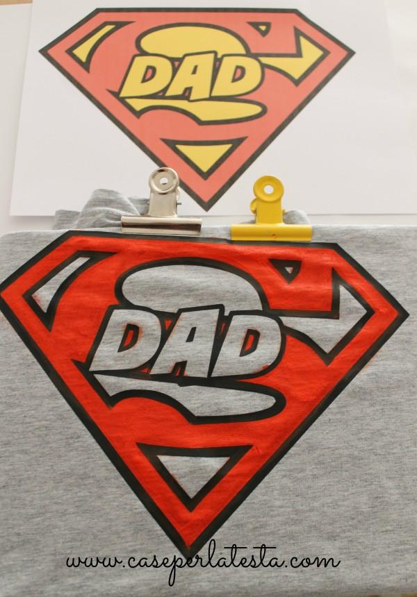 maglietta superman fai da te