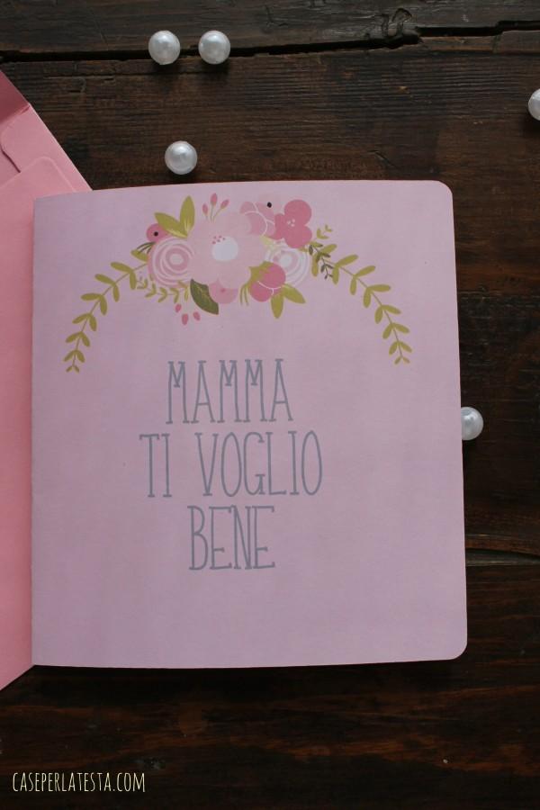 biglietto festa della mamma stampabile