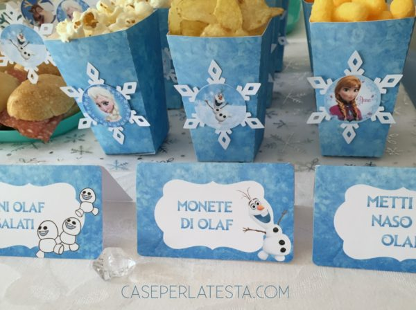 Party A Tema Frozen Fai Da Te Caseperlatesta