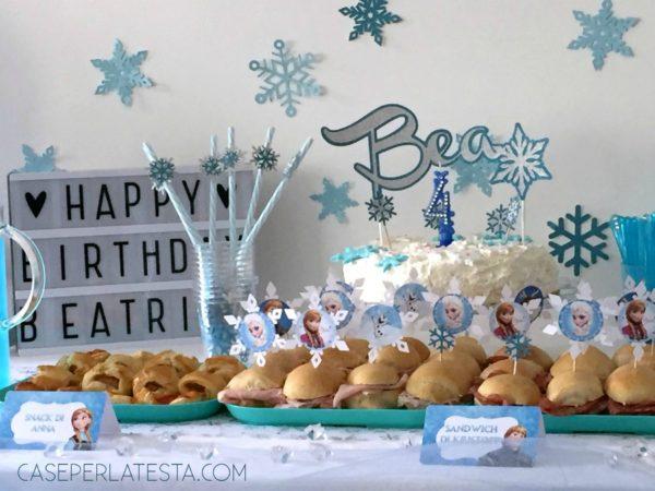 Party A Tema Frozen Fai Da Te Caseperlatesta