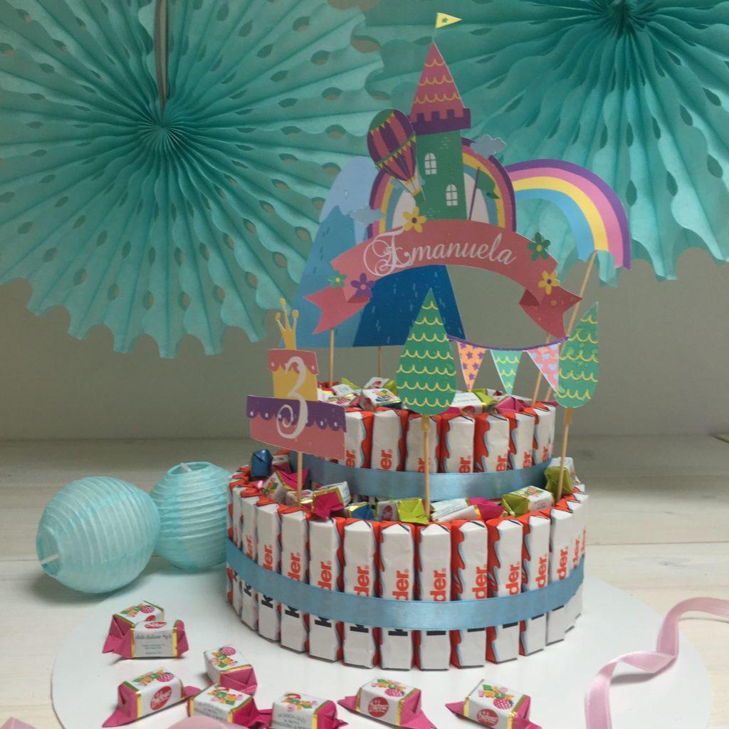 Popolare Torta di Kinder o torta di caramelle - Caseperlatesta PG19