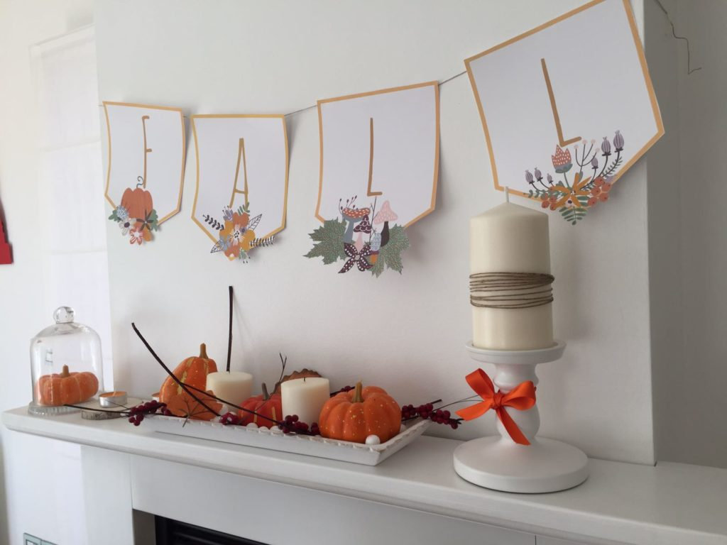 Come decorare la casa per l 39 autunno caseperlatesta for Stufa candele ikea