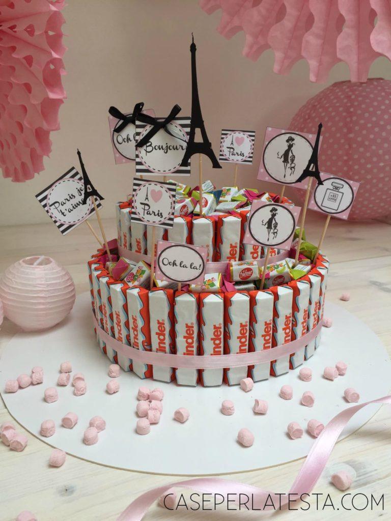 Estremamente Torta di Kinder o torta di caramelle - Caseperlatesta RY17