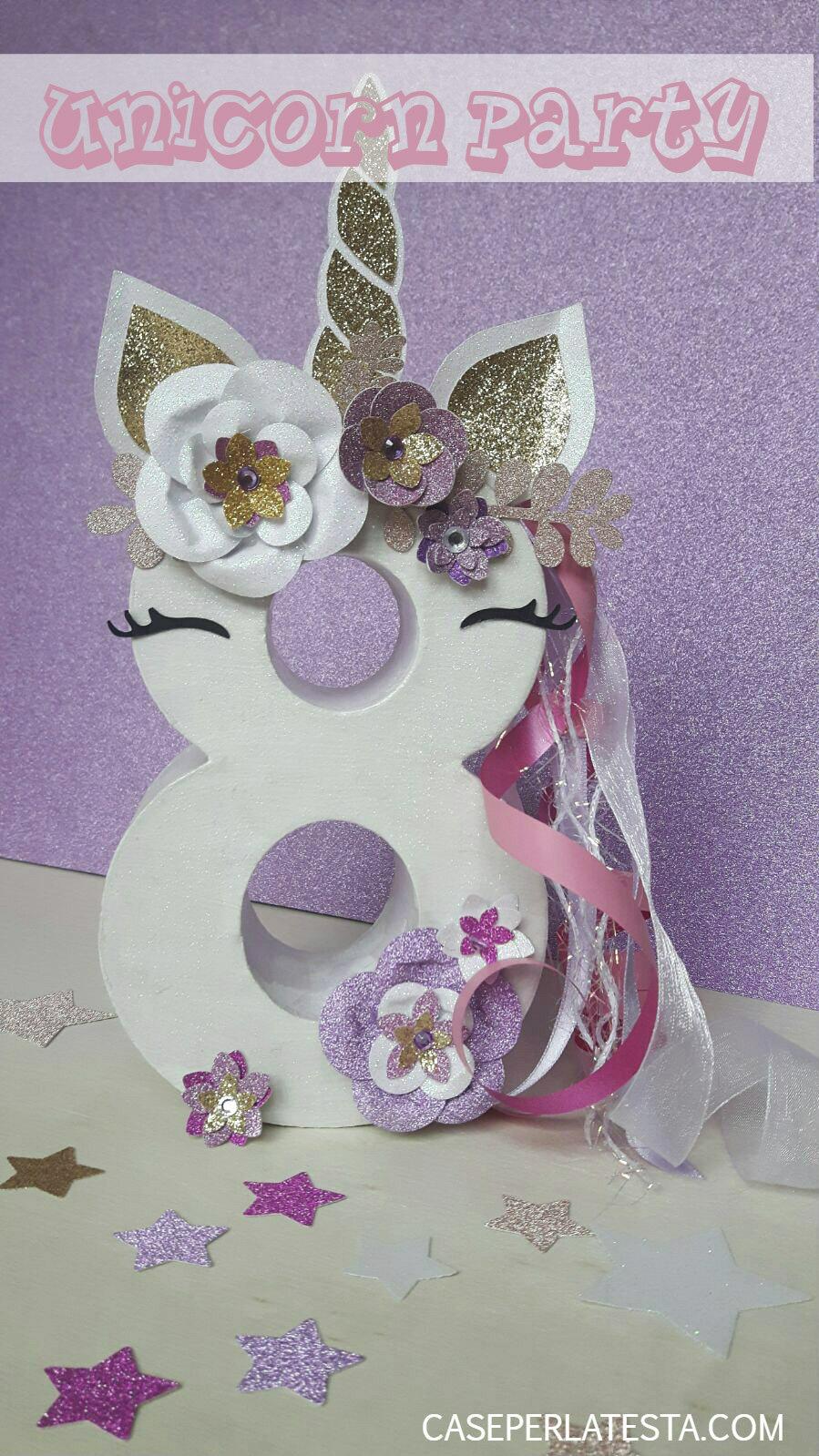 Matrimonio Tema Unicorno : Come fare un numero a tema unicorno caseperlatesta