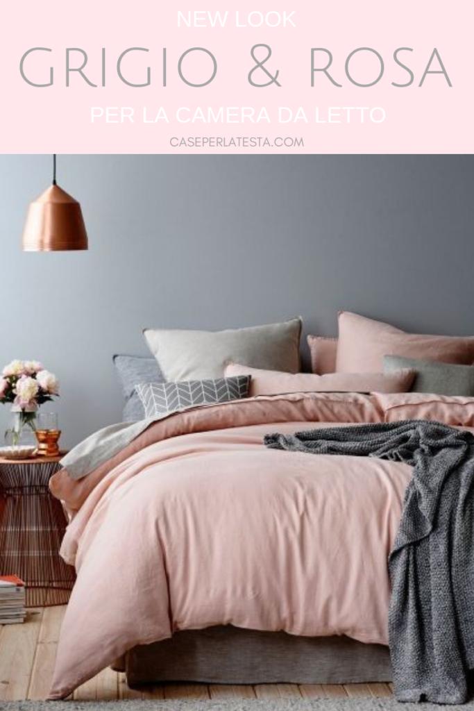 Camera da letto rosa e grigio: una combinazione perfetta ...