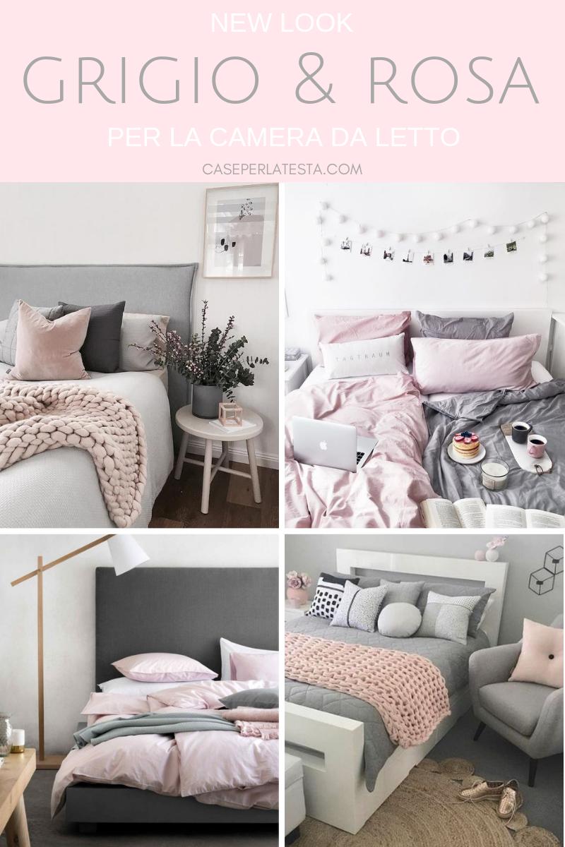 Camera Da Letto Grigia camera da letto rosa e grigio: una combinazione perfetta
